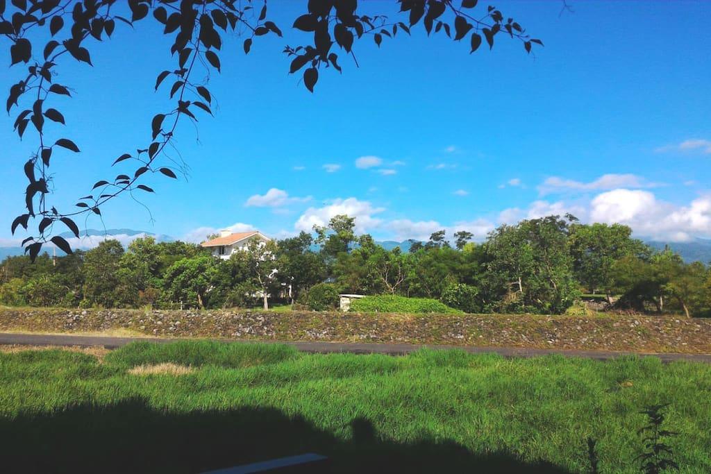 宜蘭米修B&B-鄰近安農溪分洪堰公園,放眼望去無盡的綠~