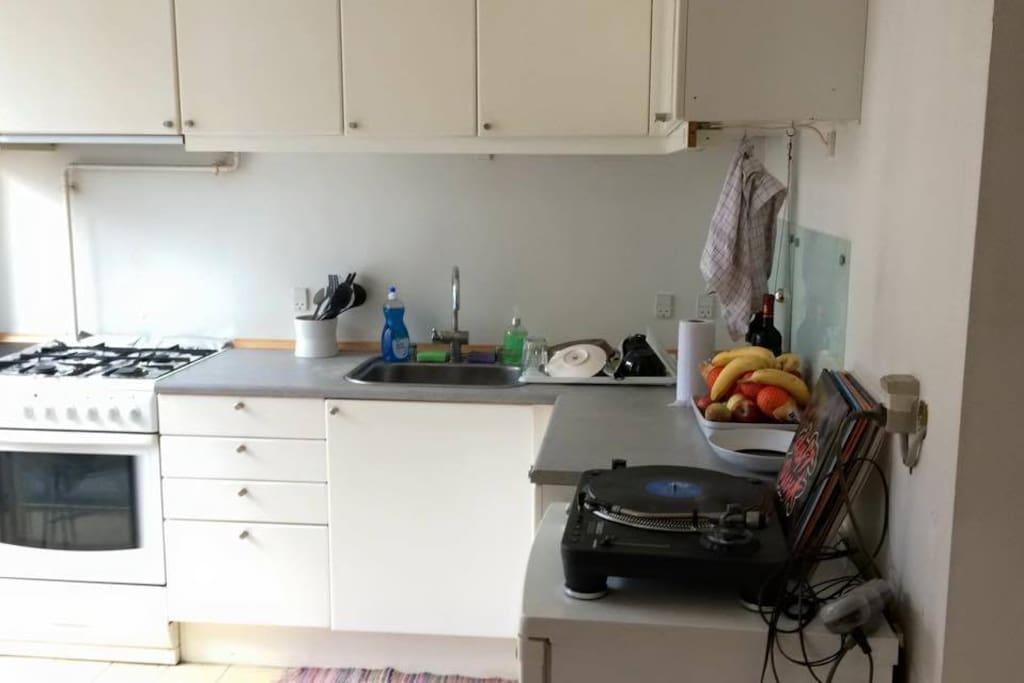 Well-arranged kitchen