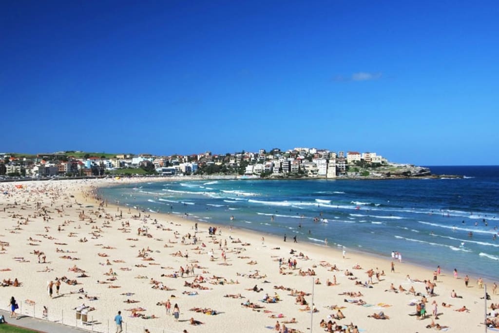 Apartment located on the south side of Bondi Beach just 400m from the water