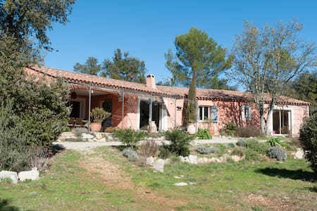 Stunning villa, heart of Provence - Correns