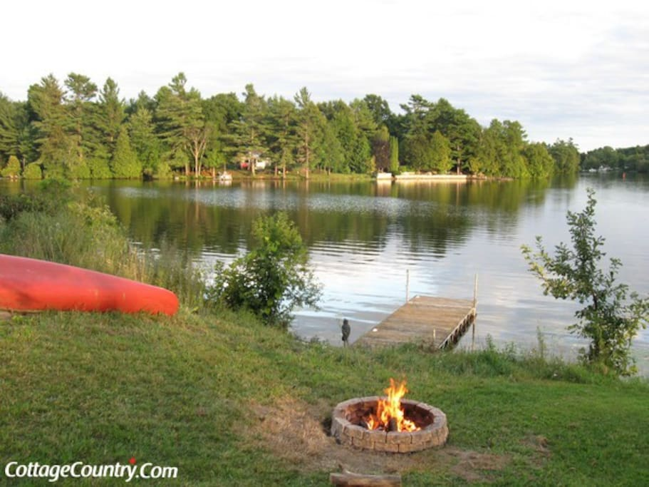 Fire Pit And Dock