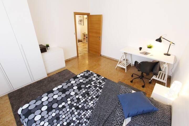 Singola accogliente in splendido appartamento
