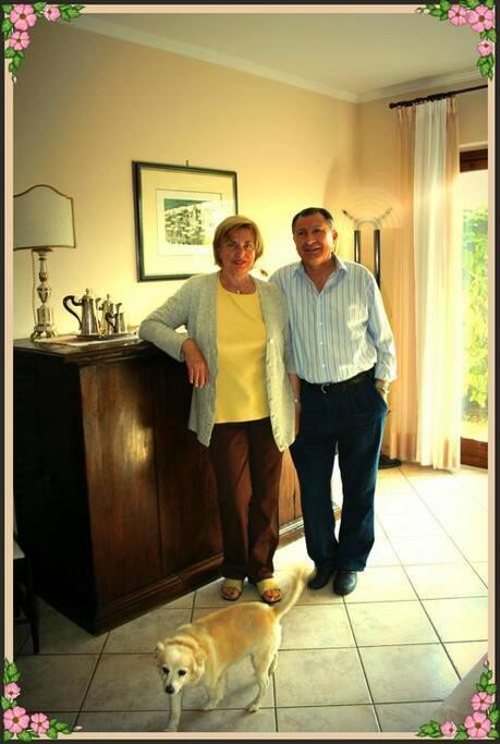 Silvana e Sandro sono a disposizione dei propri ospiti