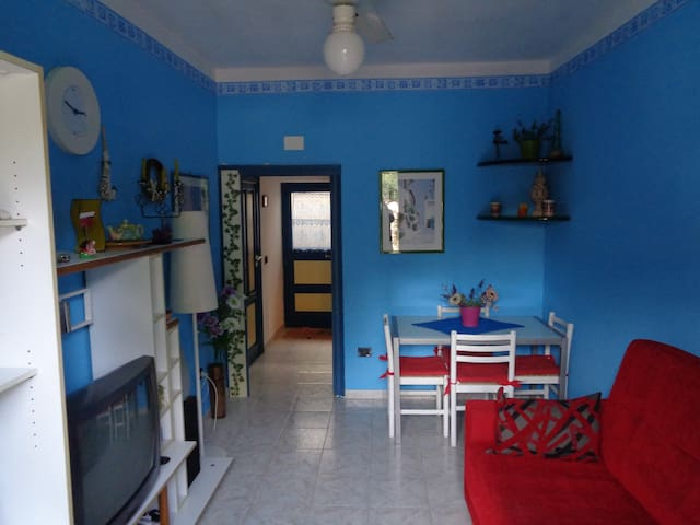 Blue House near Mondello Beach - Palermo - House