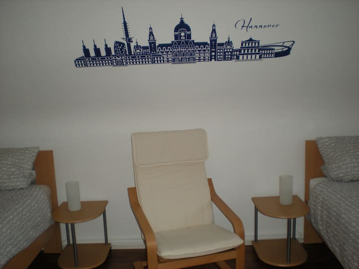 ruhiges Zimmer - privater Eingang
