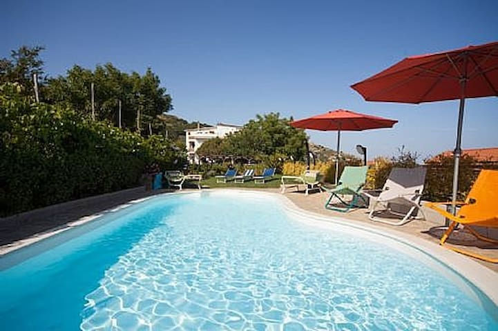 Apt Amber in Villa, sea view - Massa Lubrense - Apartment