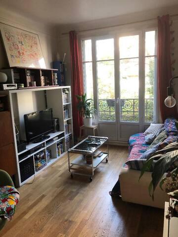 Chambre cosy dans superbe appartement