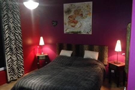 jolie chambre dans maison de maitre - Saint-Martin-du-Tertre - Huis