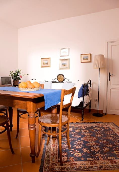 La Vignaredda - Residenza di Charme - Aggius - Sardinia -Italy - Apart  Belle Époque - Salotto con mobili antichi di famiglia