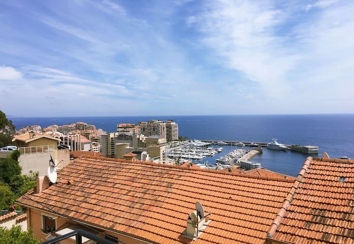 Cap d'ail vue mer et Monaco