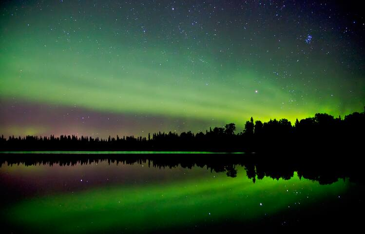 Aurora and Springtime Fun on the lake! - North Pole - Casa