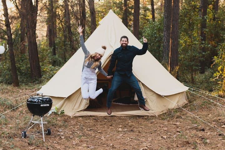 Drift Outdoors, A Luxury Camping Company Tent #2 - Nevada City - Tent