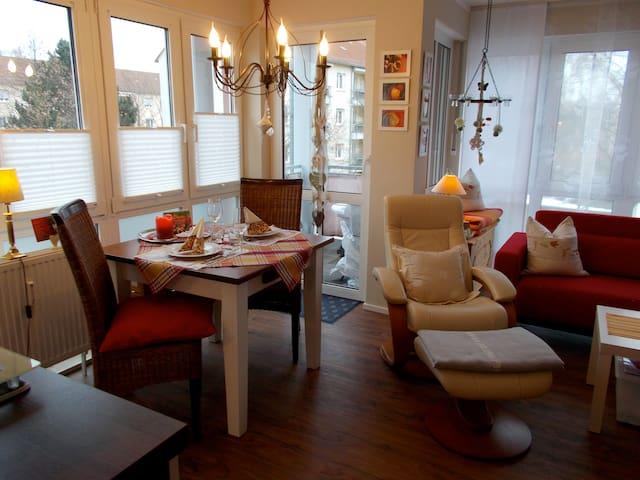 Charmante Wohnung in Schwabach - Schwabach - Appartement