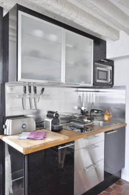 Kitchen work top.