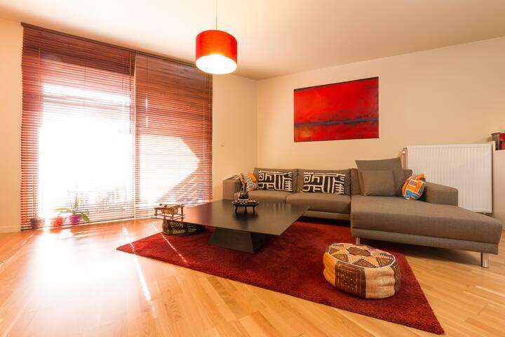 Beautiful apartment Heysel/Atomium - Brussel - Appartement