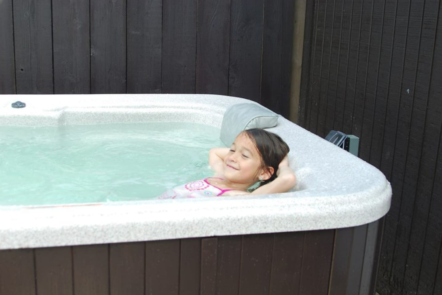 Soak in hot tub after a day of exploring beautiful San Diego or hanging out at the beach.
