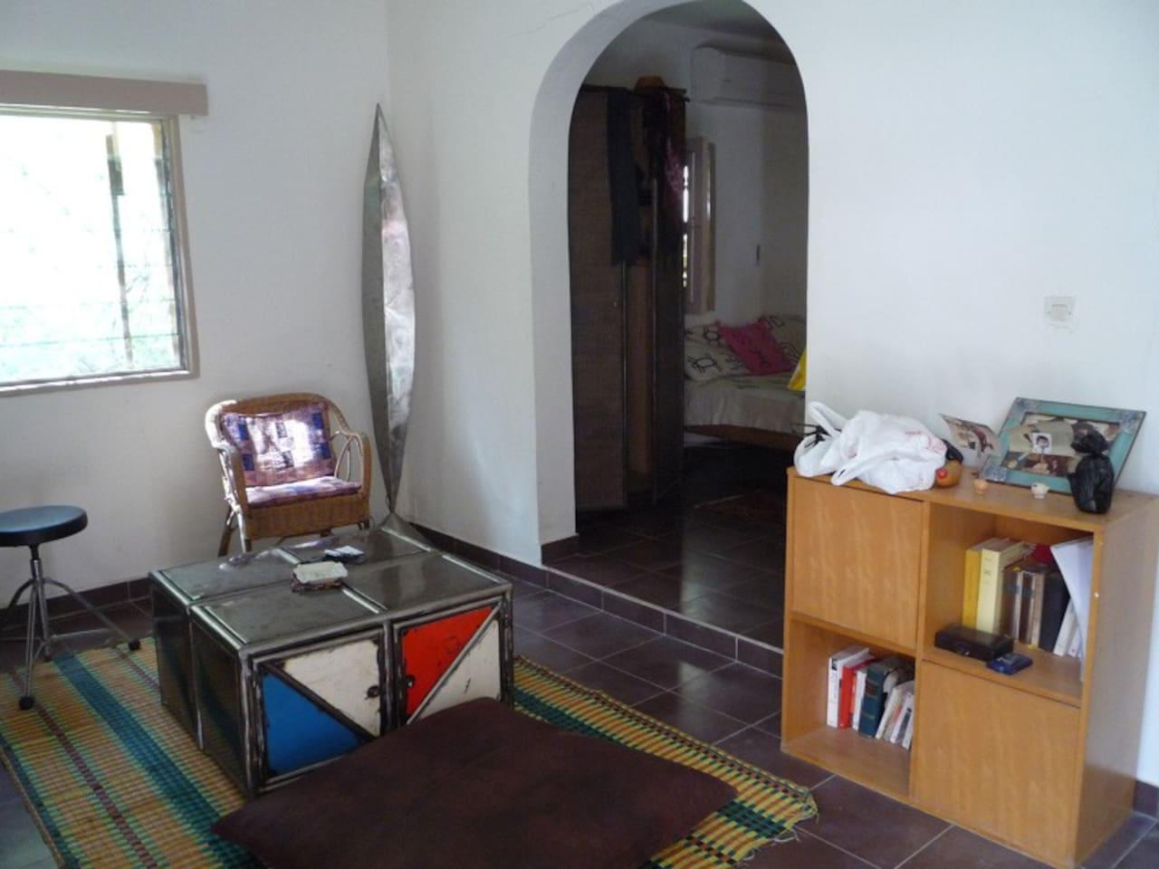 Studio meublé dans jardin, Dakar - Guesthouses for Rent in Dakar ...