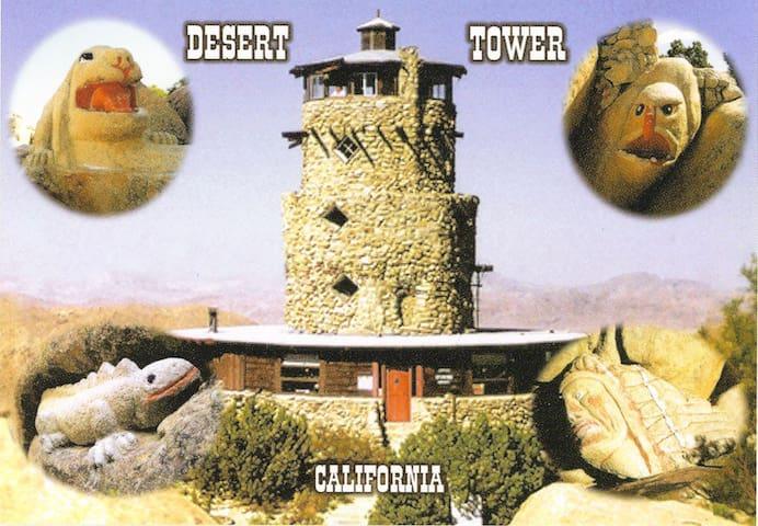 The Desert View Tower Historical Landmark