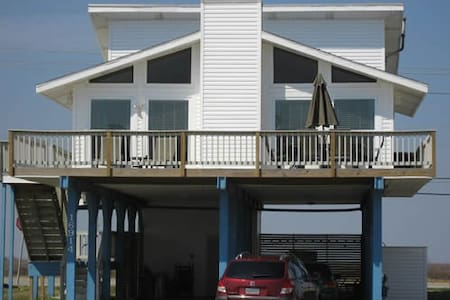 Galveston Beach - A Bare Necessity  - Jamaica Beach - Casa