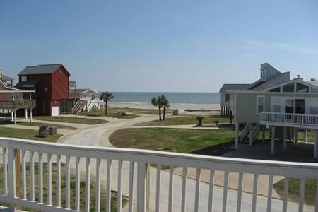 Galveston Beach - A Bare Necessity - Jamaica Beach - Talo