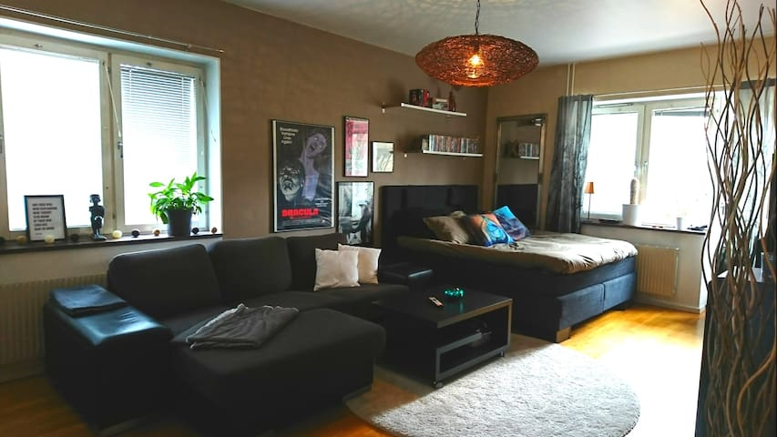 Cosy studio near city centre & beach, free parking - Helsingborg - Apartment