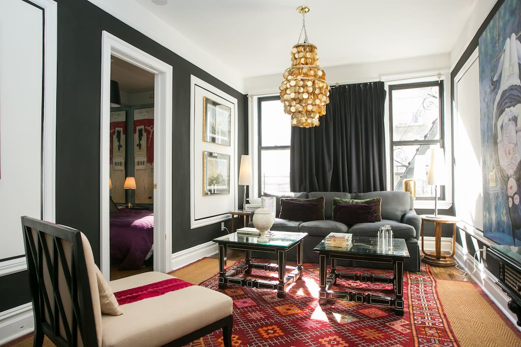 manhattan upper west side central park cosy 2 bed appartements louer new york new york. Black Bedroom Furniture Sets. Home Design Ideas