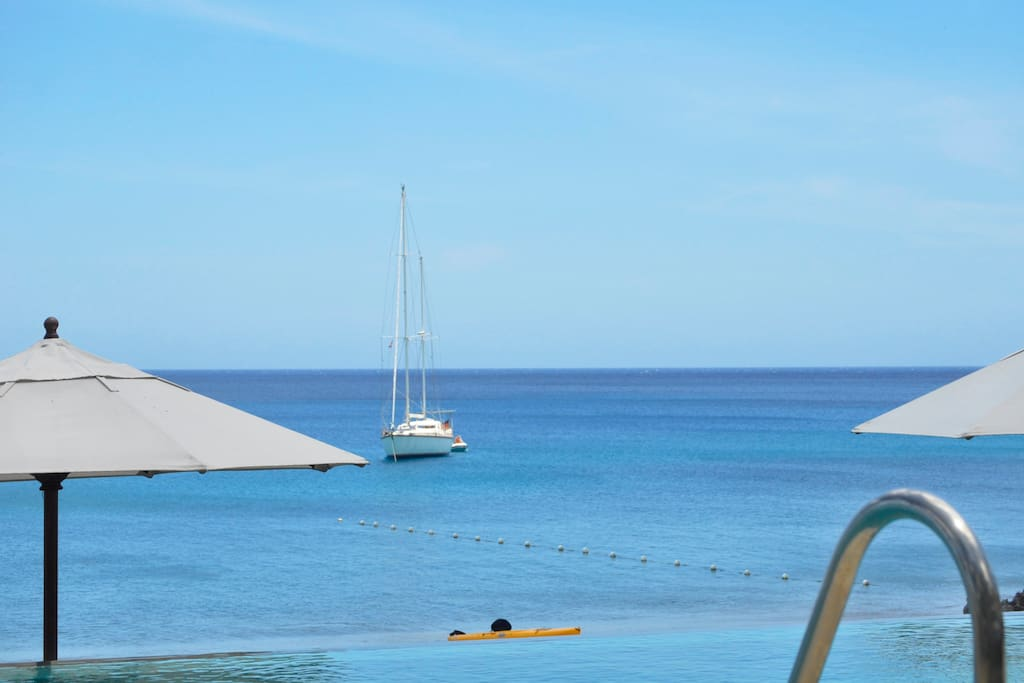Panoramic views of the surrounding landscape, waters and yachts makes vacation with us unique and memorable...