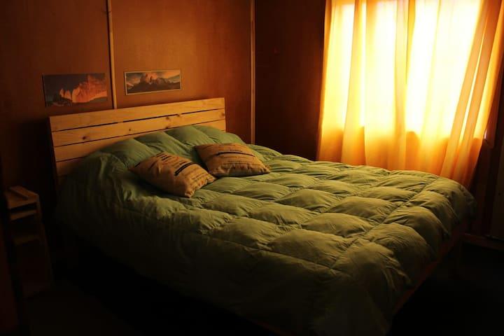 Habitacion privada en hostal-ISLA YU PATAGONIA