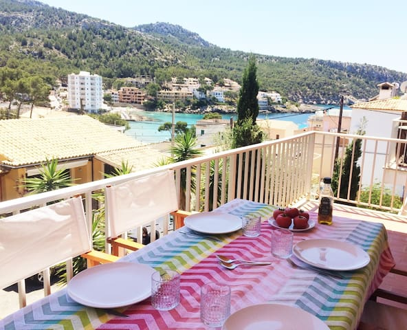 Sant Elm 50m from the sea - Terrace & Wifi - Sant Elm - Apartamento