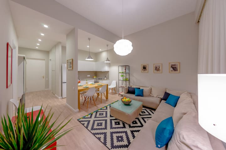 Fashionable one-bedroom apartment - 提比里斯 - 公寓