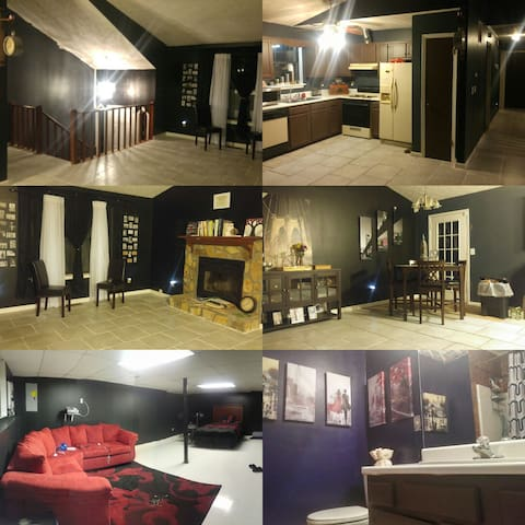 Chic home near airport/ downtown - Union City - Dom