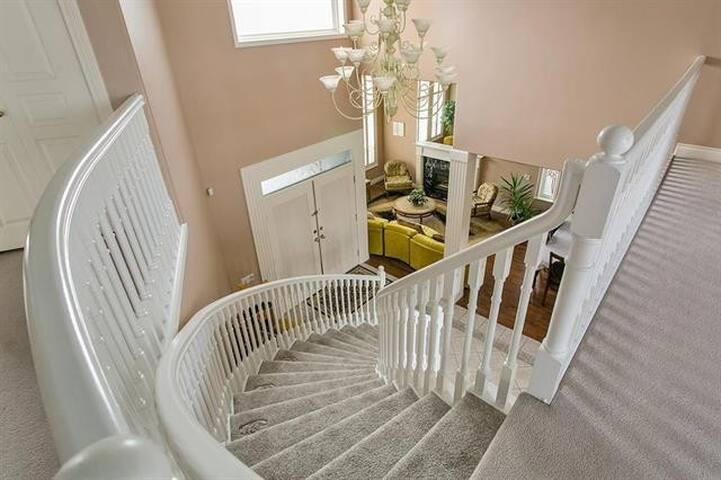 up stair  elegant room