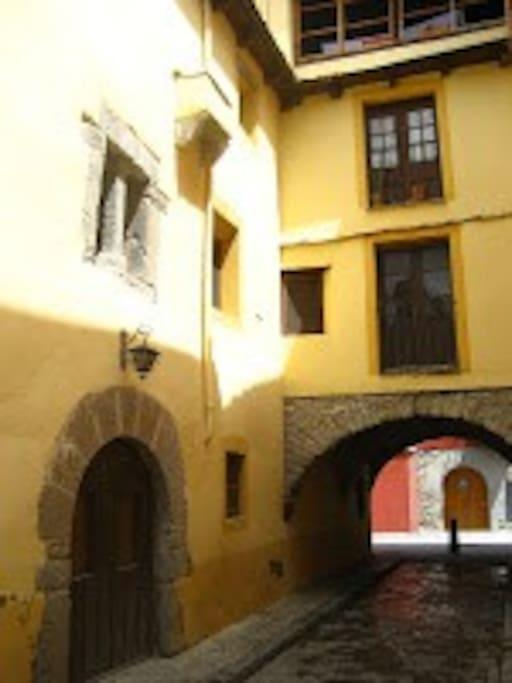 Arco románico de San Nicolas