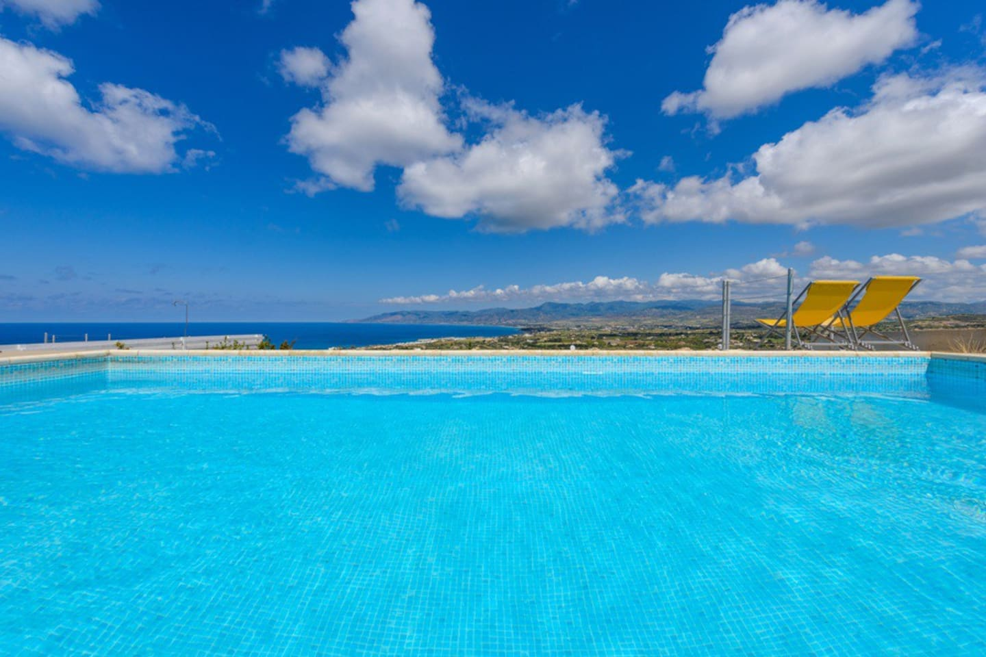 View Of The Swimming Pool And Sea View