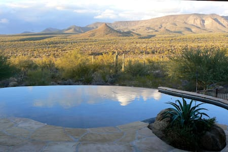 Tonto Vista Hacienda overlooks Tonto Nat. Forest - New River - 独立屋