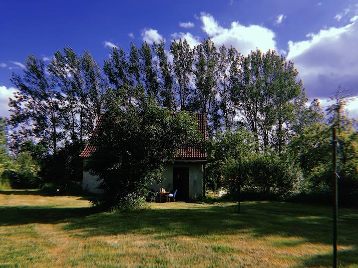 Gemütliches Haus in Alleinlage mit 8000 qm Garten