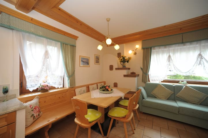 Casa Piva in the heart of Dolomites - Mareson-pecol - Apartament