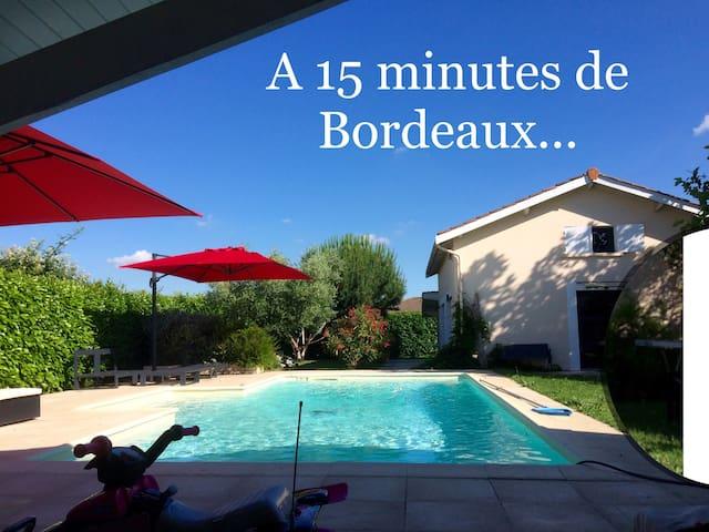 Gîte avec piscine au cœur de la route des vins