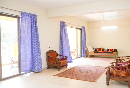 AWESOME HOUSE- 4 rooms@ Baga/Arpora - Anjuna