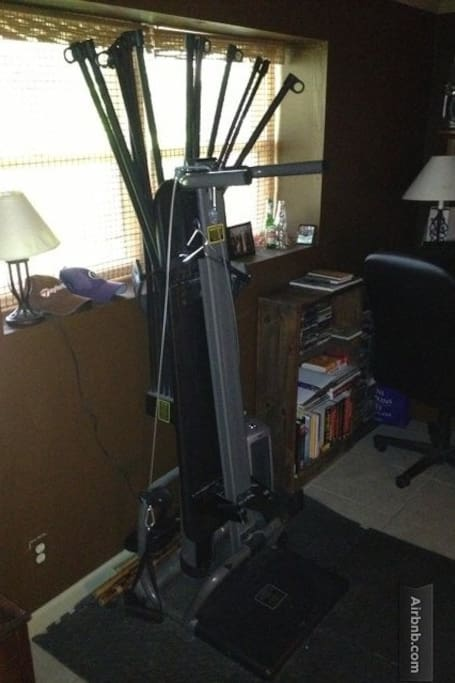 Bowflex and other workout equipment