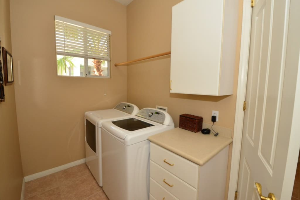 Access to Laundry area as needed during daytime hours.