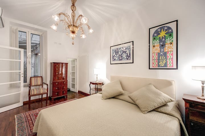 Elegant 1bdr Suite - Pantheon Rome Ac/WiFi/Terrace - Rome - Apartment