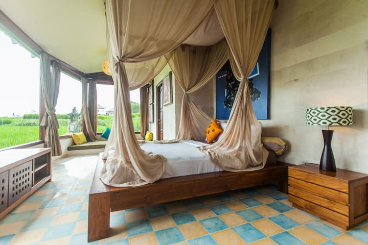 LUXURY RICE PADDY VIEW APARTMENT! - Ubud - Apartamento