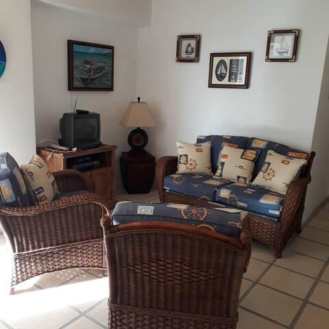 Apartamento de playa en el Caribe