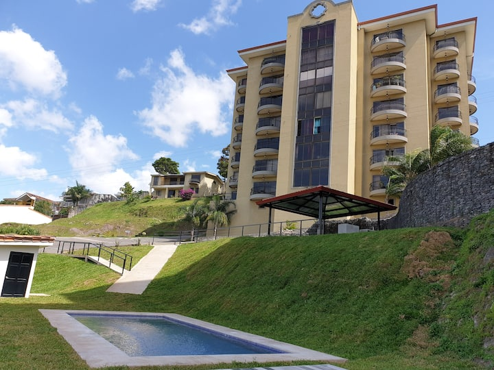 Luxury 2BR Penthouse #4 in Escazu. Stunning views