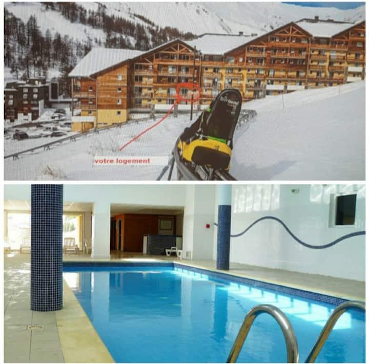 Bienvenue chez nous 1 à 7 couchages piscine