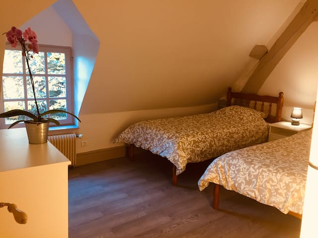 Chambres chaleureuses