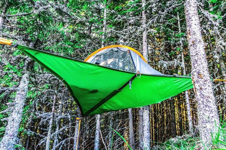 TENTSILE TREEHOUSE a. for 2 - at NOGravity Parâng
