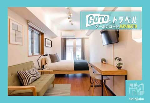 Shinjuku's Finest: Modern Biz Friendly Home