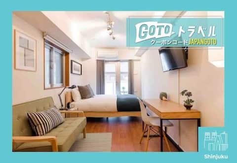 Shinjuku's Finest: Modern Biz Friendly Home